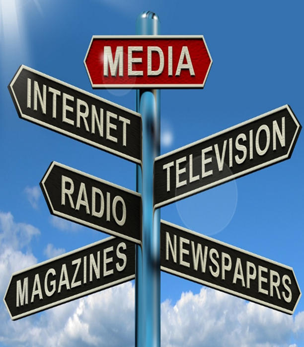 Writing press releases and for the media - media map