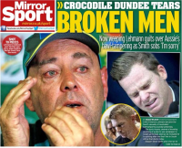 Back page headline 'Broken Men'