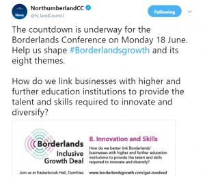 #Borderlands Conference tweet